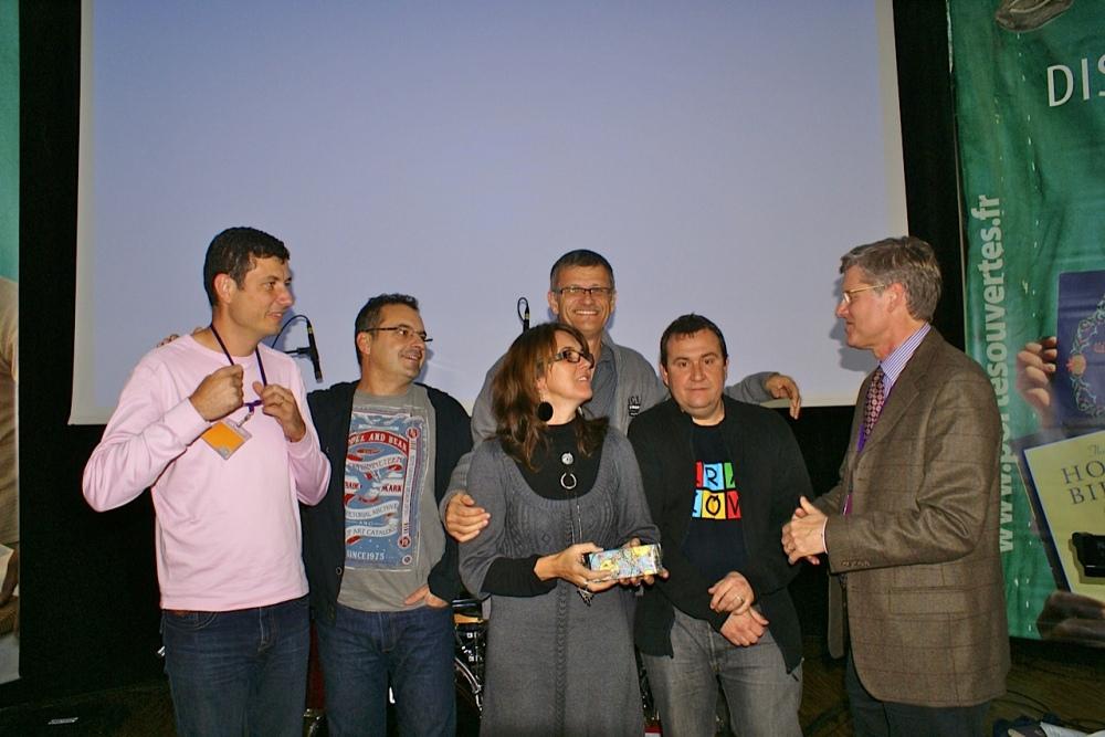 Olivier, Xavier, Babeth, Ricou, Manu remerciés par Michel directeur de Portes Ouvertes France
