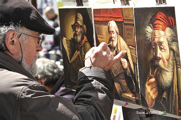 PeintreMontmartre