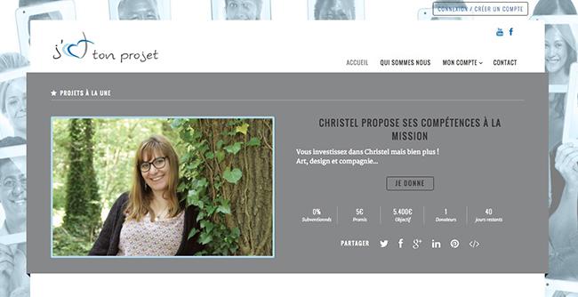 jaimetonprojet Christelle