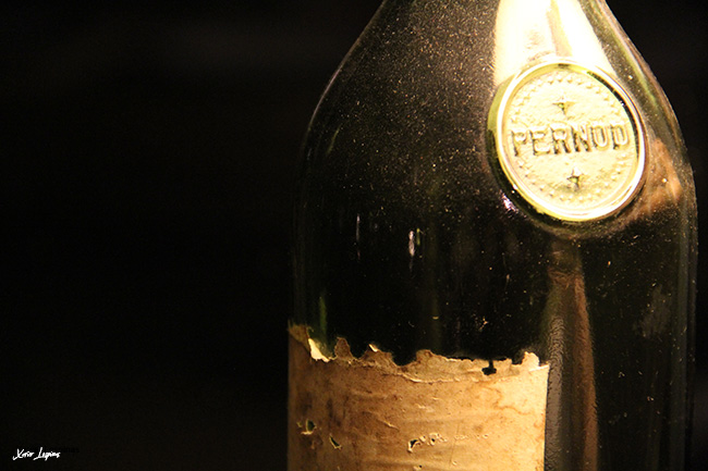 Old Pernod bottle